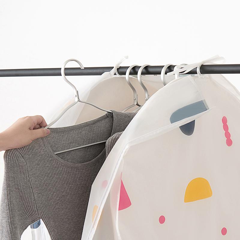 立体衣服防尘罩衣服套防尘袋大衣罩水洗挂式衣物收纳袋透明罩家用