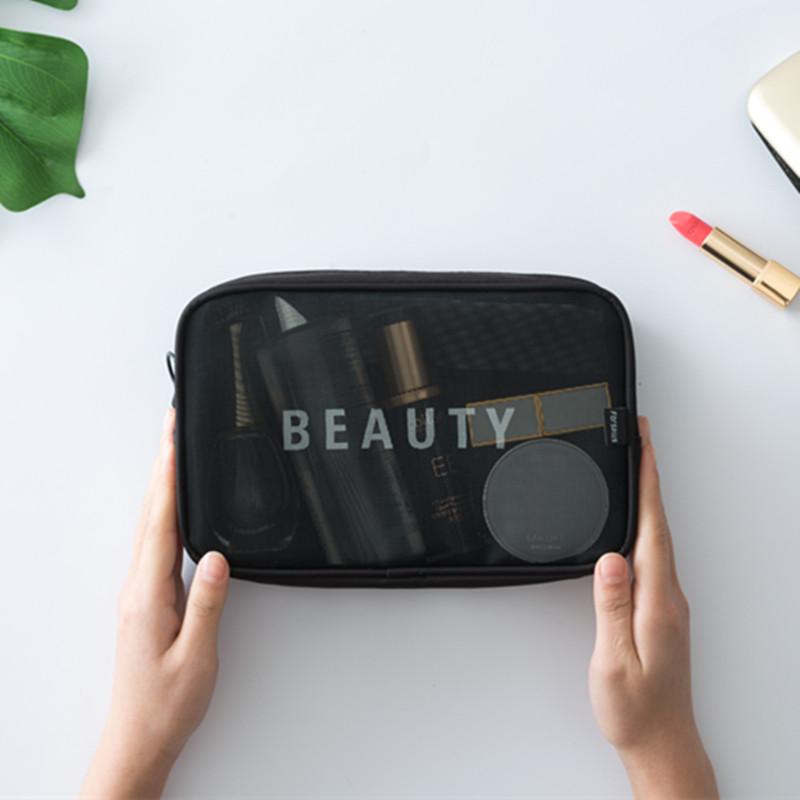 84298369ee9d 1.88] Korea travel cosmetic bag small portable storage bag with mini ...