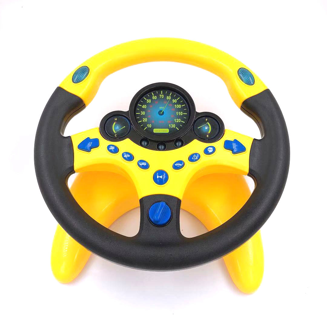 抖音同款:副驾驶方向盘