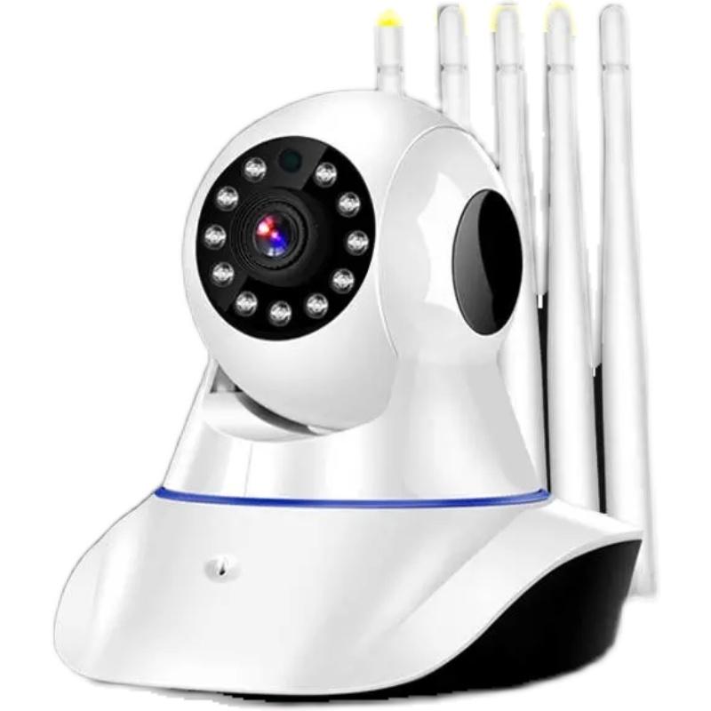 无线摄像头监控器家用远程监控手机室内外高清夜视360度旋转wifi