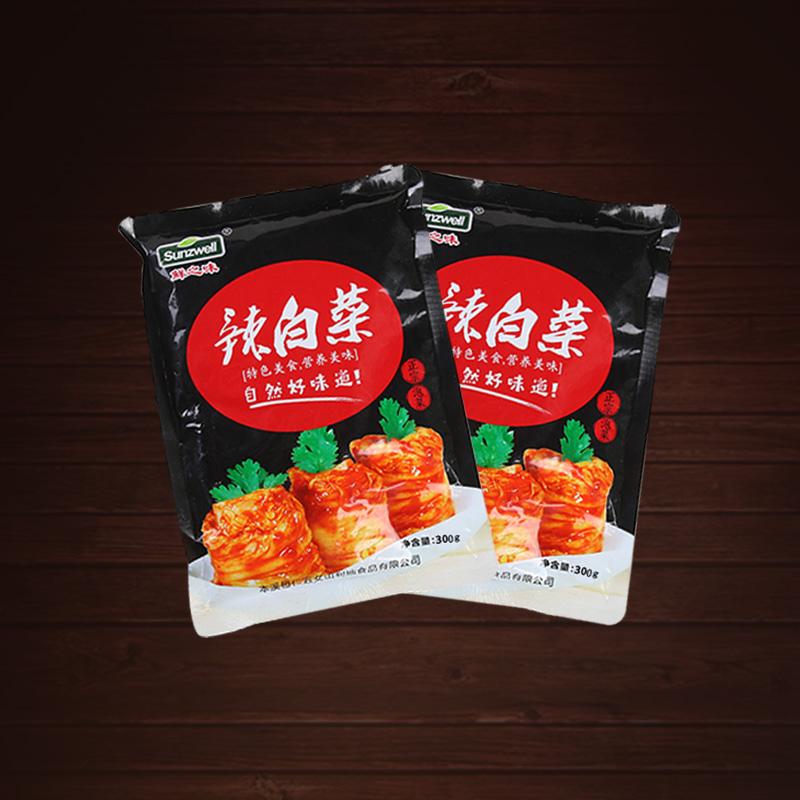 韩国东北腌制菜辣白菜300g