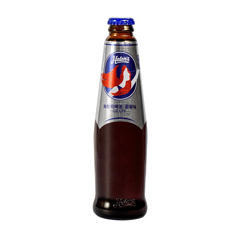 Helens海伦司果啤葡萄味果味6瓶