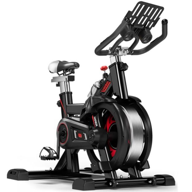 汗马智能游戏减震单车健身动感单车