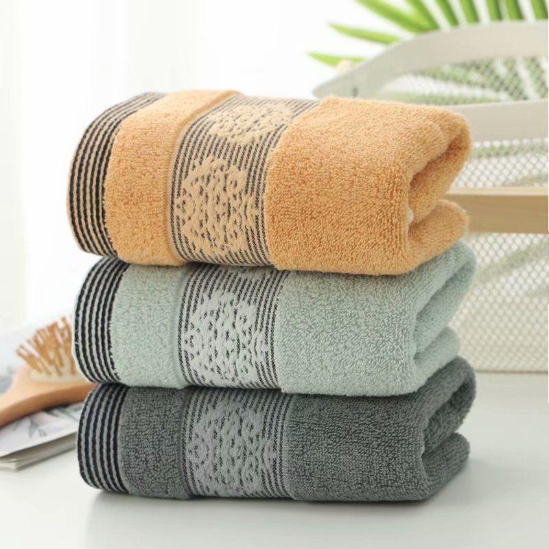 居家日用纯棉毛巾成人学生大毛巾洗脸巾毛巾