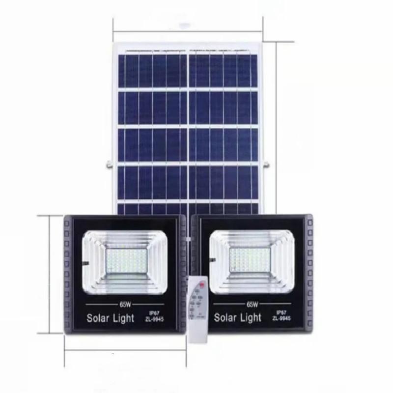 新款家用室内太阳能灯户外庭院灯超亮防水新农村乡村远程遥控路灯