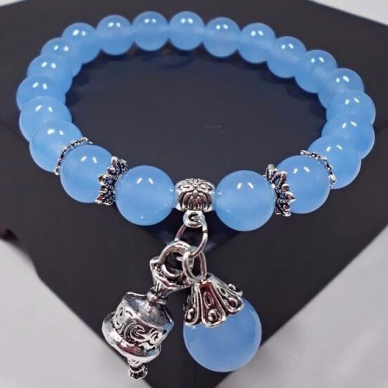 生日礼物女水晶手串 情人节礼物玉石手链手