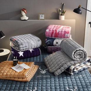 家用加厚保暖床垫睡垫宿舍毛毯床单