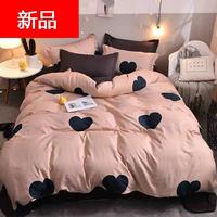 四件套床上用品单人学生宿舍床被套被单三件套