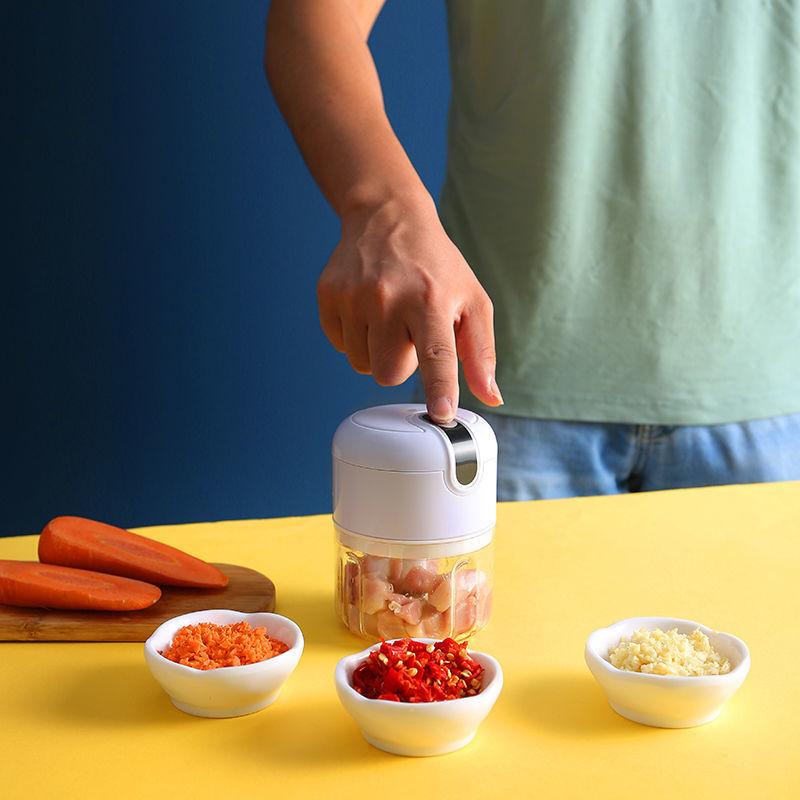 无线电动蒜泥神器搅蒜机蒜蓉厨房捣蒜打蒜器自动拉蒜家用小型26