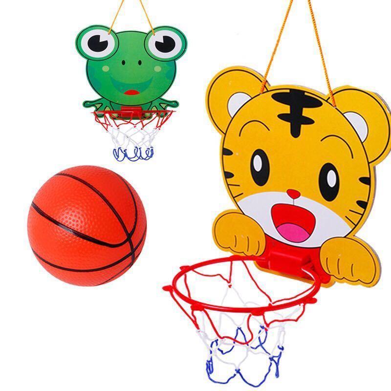 儿童玩具篮球架宝宝家用室内球类运动壁挂式