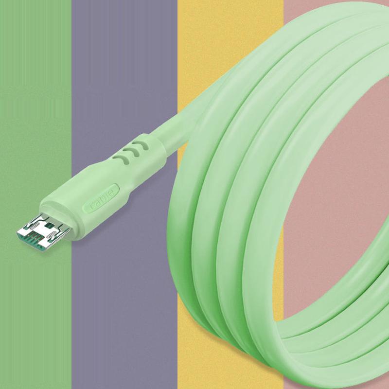 适用OPPO闪充数据线液态软胶充电线