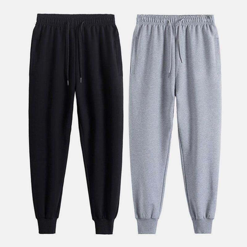 新款裤子男宽松百搭潮流休闲裤男款运动裤