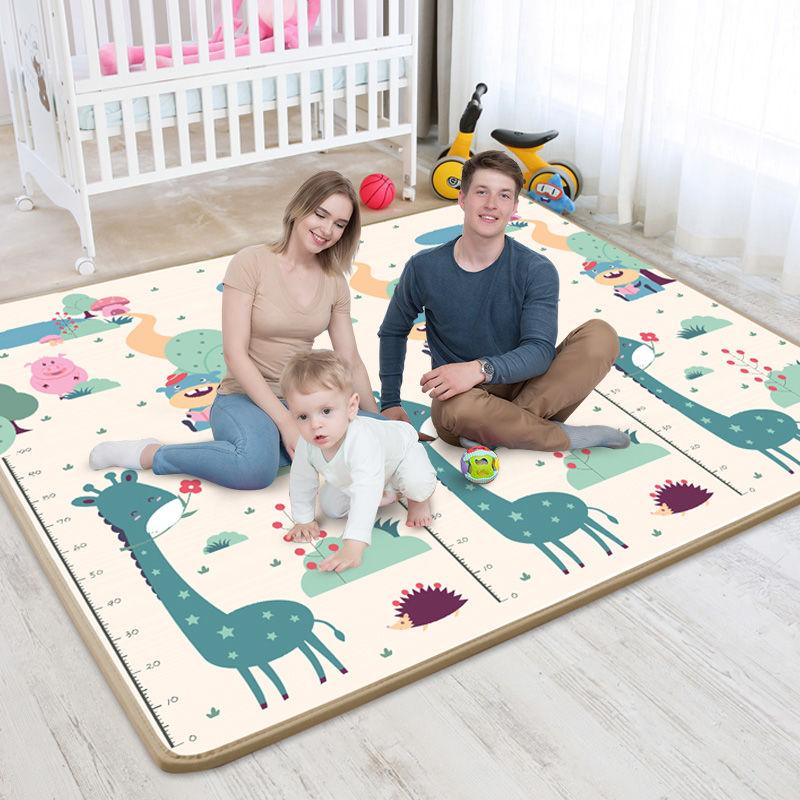 宝宝爬行垫加厚婴儿客厅儿童家用泡沫地垫防潮游戏毯可拼接爬爬垫