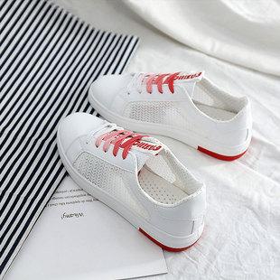 女鞋小白鞋夏季ins超火鞋帆布鞋运动鞋