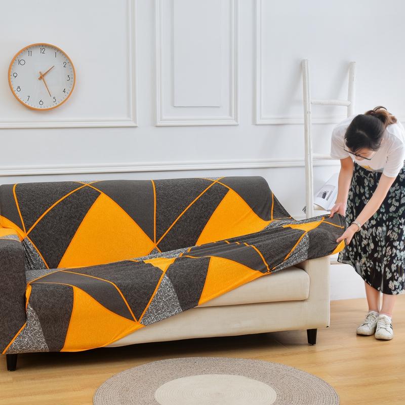 网红全包沙发套万能弹力沙发罩全盖贵妃组合布艺沙发垫巾通用四季