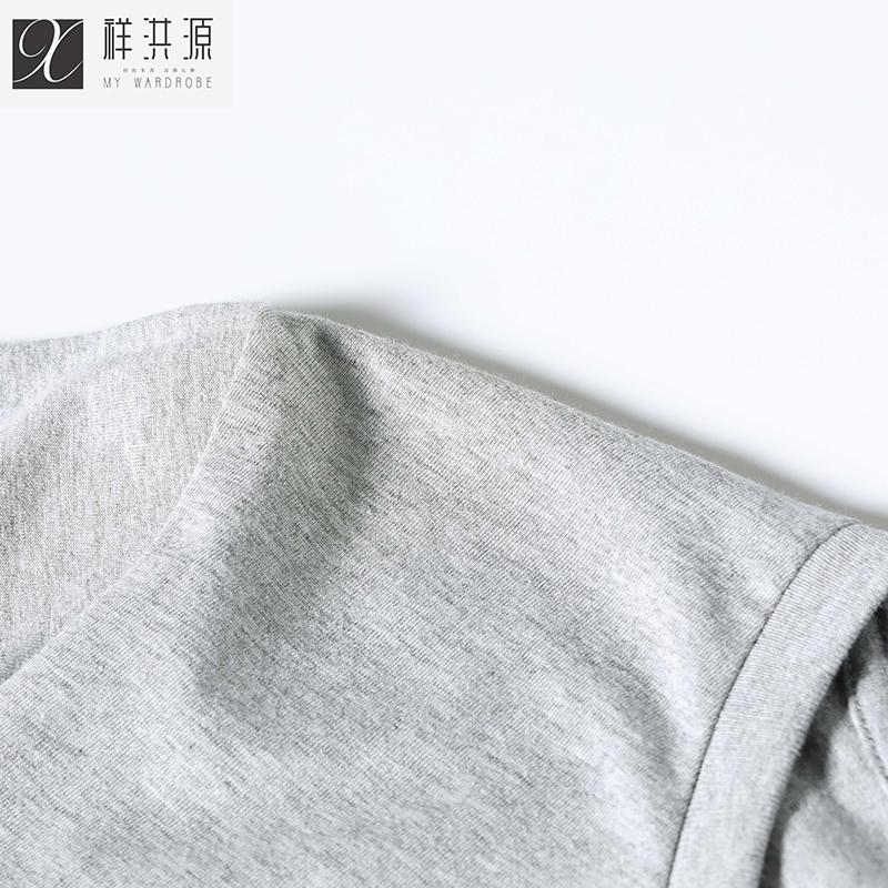 Xiang Hongyuan nam ngắn tay t-shirt nam 2018 mùa hè mới của Hàn Quốc phiên bản của một nửa tay áo khô nhanh quần áo triều 182020020