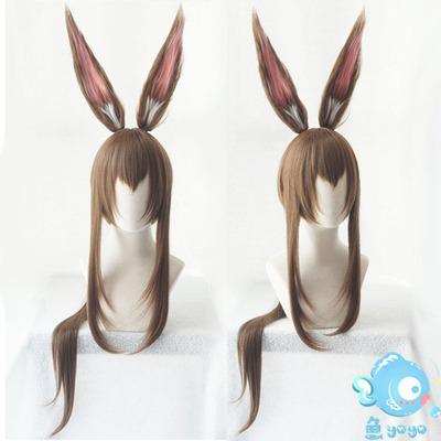 taobao agent Otaku COS/Tomorrow's Ark Amiya Amiya Low Bandage Cos Wig Ears