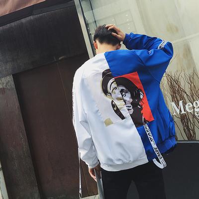 Xu hướng mùa xuân mới nam chú hề băng vài áo khoác Hàn Quốc phần mỏng sinh viên giản dị cá tính áo khoác đồng phục bóng chày đẹp trai Đồng phục bóng chày