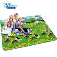 Disney dã ngoại mat ẩm pad lớn dày không thấm nước bãi biển vải cỏ lều mùa xuân cắm trại mat ngoài trời