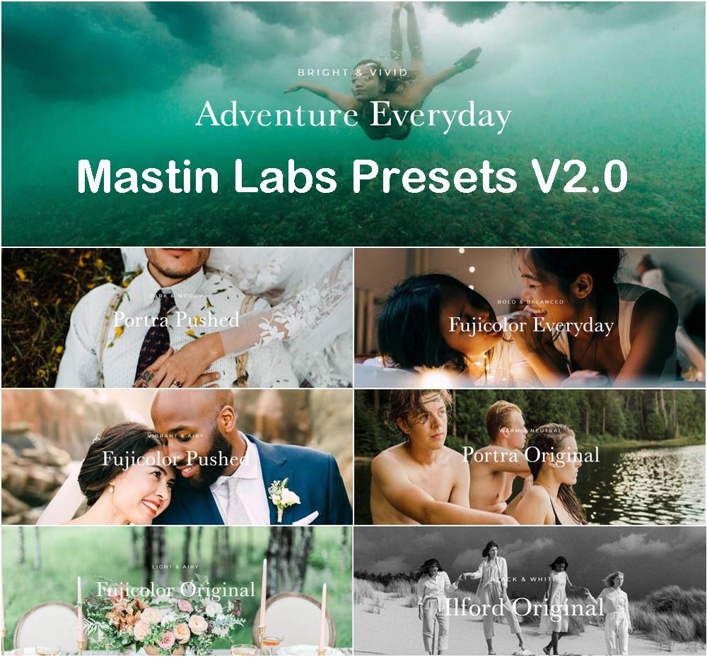 【P359】Mastin Labs 2020马斯丁工作室全站电影胶片模拟LR预设七套合集2.0