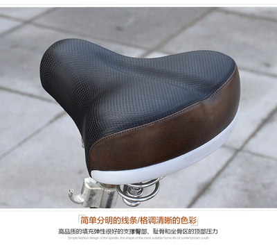 电动车加大加厚坐垫电动车鞍座自行车单车电瓶车车座垫配件通用