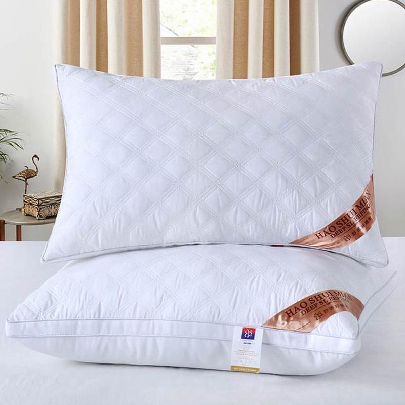 枕头枕芯双人枕头护颈椎家用酒店软整头