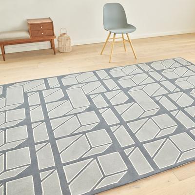 定制地毯客厅满铺 新西兰羊毛加丝大面积地毯样板房