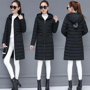Bông 袄 nữ 2018 mới của Hàn Quốc phiên bản của giải phóng mặt bằng sinh viên mùa đông chống mùa bông của phụ nữ phần dài mô hình vụ nổ dày áo triều