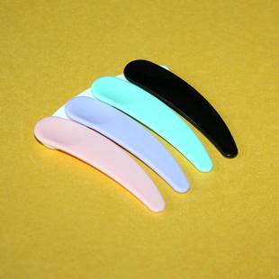 Пластик полумесяц ложка упаковка крем глаз царапина ложка аспект мембрана палка составить статья DIY упаковка инструмент небольшой выбирать палка копать ложка