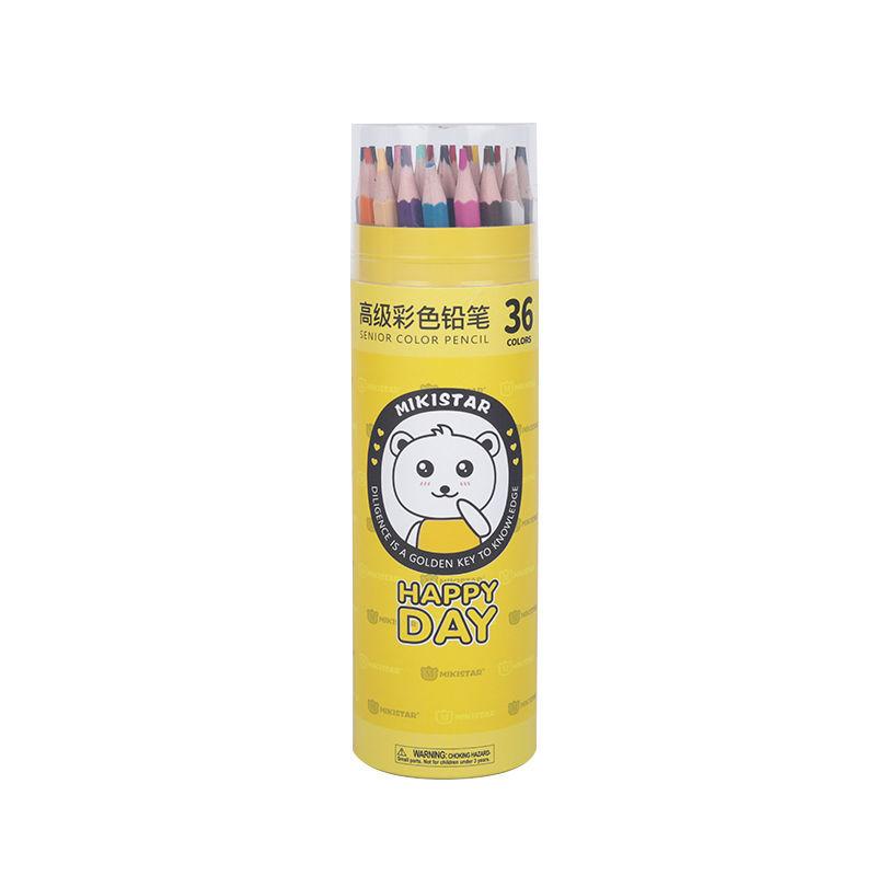 幼儿园小�学可擦彩色铅笔套装6色36色48色画笔文具美术用品彩铅