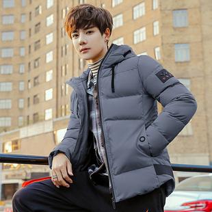 冬季外套男士棉衣韩版棉服加厚休闲短款棉袄