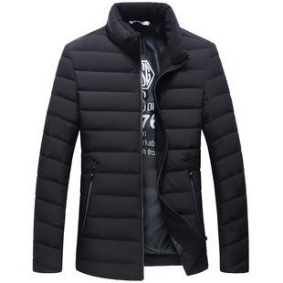 冬季新款男士羽绒服韩版白鸭绒外套棉服男装