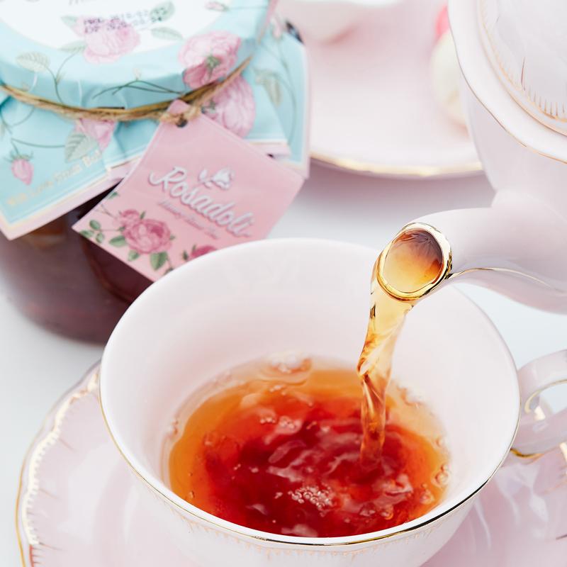 白菜 保加利亚进口 Rosadoli 罗丝多丽 蜂蜜玫瑰茶 680g 淘宝优惠券折后¥29.9包邮(¥89.9-60)