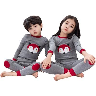 儿童纯棉保暖秋衣秋裤套装