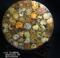 祝贺马达加斯加长辈同事古生物化石白玉螺菊花螺黑螺罗盘把玩摆件收藏矿物奇品用心