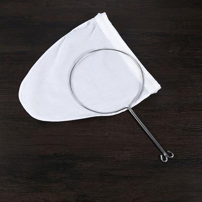 港式奶茶过滤袋丝袜拉茶袋带钢圈冲茶袋
