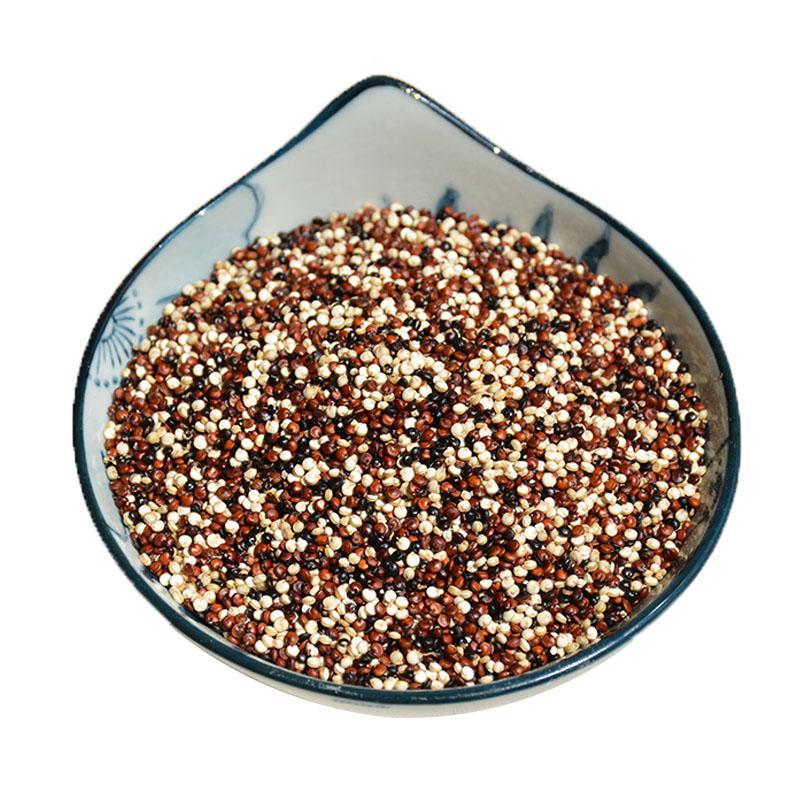 三色藜麦米大颗粒1000克包邮非秘鲁进口黑白红青海农家非有机黎麦