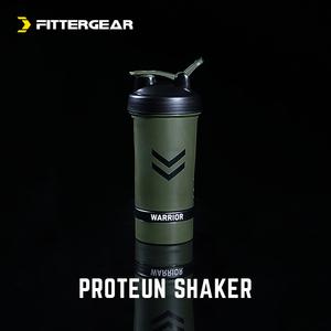 FitterGear tập thể dục protein bột lắc cup ba lớp bột hộp khuấy milkshake cup với quy mô thể thao chai