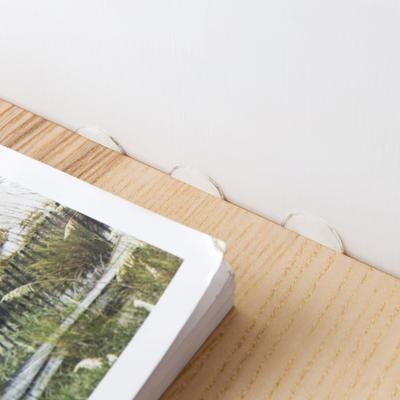 亚克力圆形无痕透明双面胶70支 创意超粘强力防水小胶片贴桌脚垫