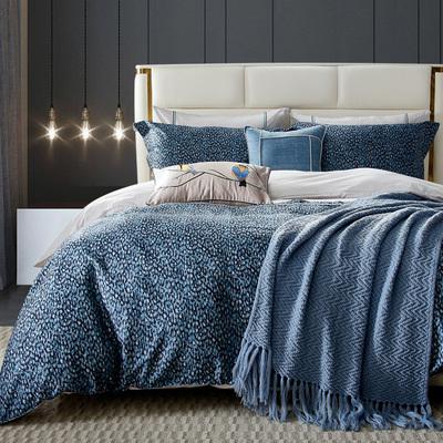 家居家具展厅家纺床品多件套配套样板间简约美式软装床上用品套件