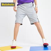 巴拉巴拉 男童薄款时尚纯棉运动五分裤28092191102