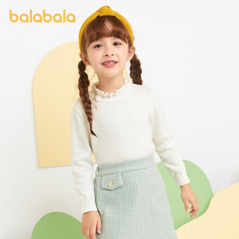 巴拉巴拉 2020新款 女童针织衫打底衫
