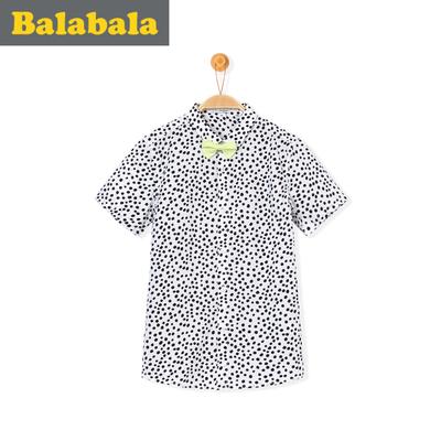 巴拉巴拉 春夏男童短袖衬衫