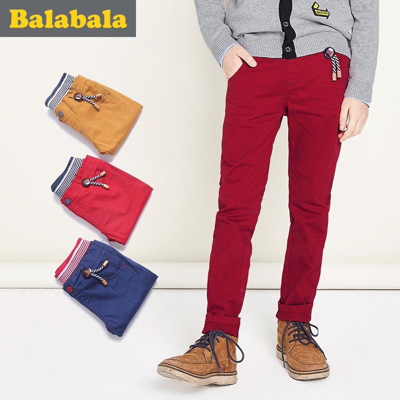 巴拉巴拉 儿童休闲裤 150-165cm