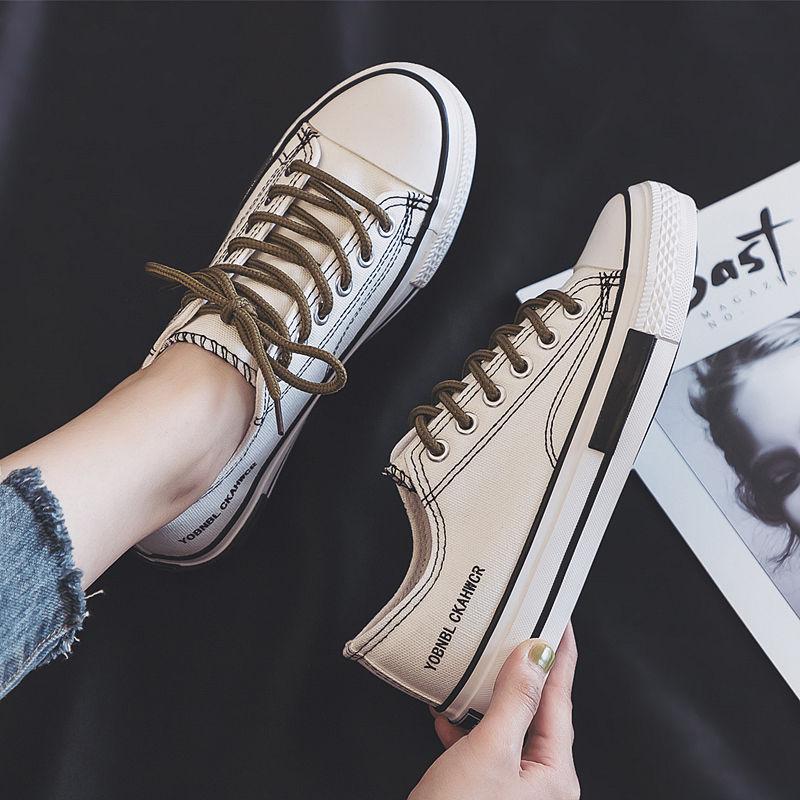 2020春季帆布女学生韩版百搭运动鞋最新款布鞋子ins板鞋小白鞋女