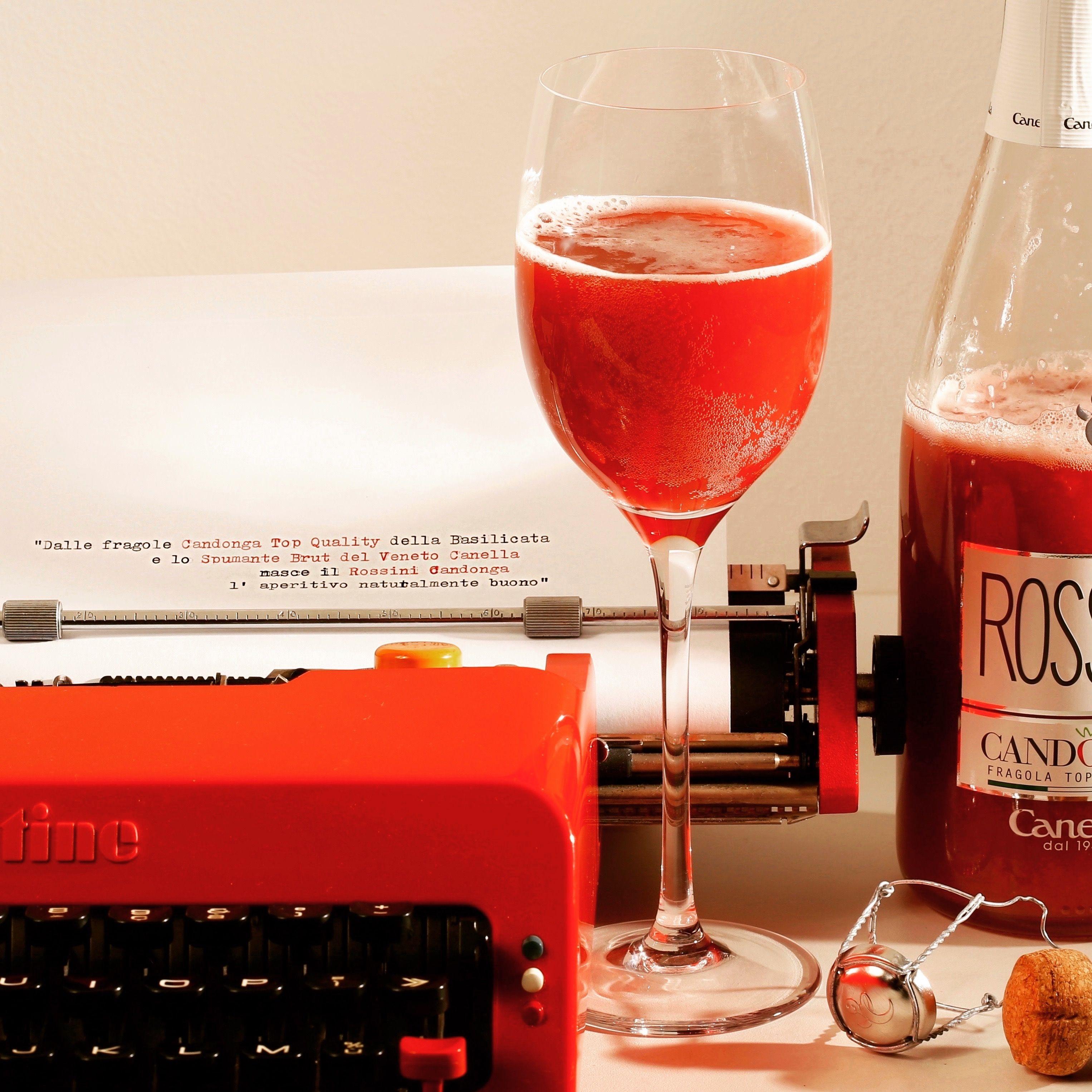 意大利rossini草莓果肉+起泡酒,闺蜜新年聚会礼物