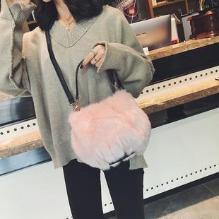 【时尚潮包】毛绒小包秋冬款百搭包