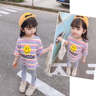 女童春秋装新款宝宝1婴儿童装2-3-4岁小童超洋气秋季时髦套装