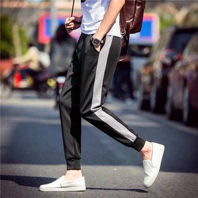 Hàn quốc phiên bản của xu hướng thể thao quần giản dị chín quần của nam giới hoang dã quần mới sinh viên phần mỏng quần chân quần harem Quần Harem