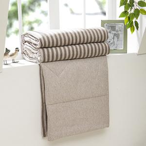 Bông bọ cạp bông mùa hè là bông sọc đan mùa hè mát mẻ điều hòa không khí đã được mùa xuân và mùa thu rửa sạch quilt quilt đơn đôi